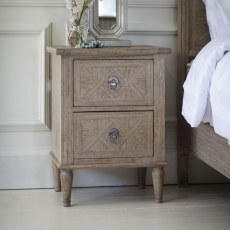 Mystique 2 Drawer Bedside Chest