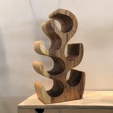 Sculptured Wine Rack