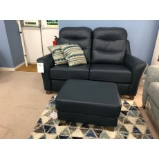 Gplan Tate 2 Seater Sofa and Footstool.