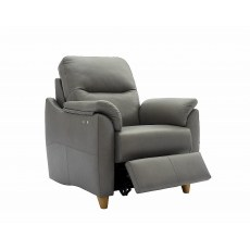 G Plan Spencer Power Recliner in Leather