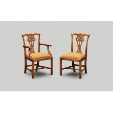 Iain James CC02/CC01 Country Chippendale Dining Chair.