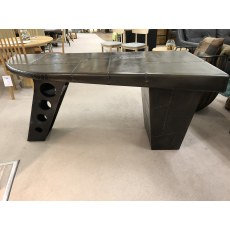 Half Wing Desk - Vintage Jet Brass