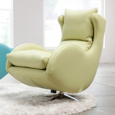 Fama Lenny Swivel Armchair