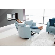 Fama Moonrise Swivel Rocker Recliner