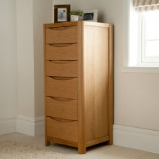 Stockholm Tall 6 Drawer Chest.