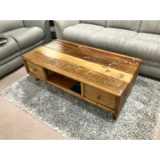 Elenora Coffee Table with Drawers