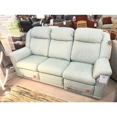 G-plan Milton 3 Seater Double Recliner and Armchair - Bamboo Marine Fabric