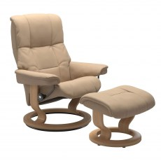 Stressless Mayfair Large Recliner with Stool SPECIAL OFFER