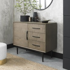 Loft Vintage Weathered Oak Sideboard