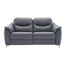 G Plan Jackson 2 Seater Leather Sofa