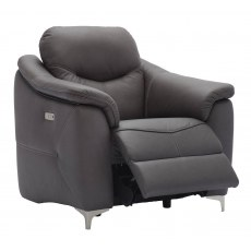 G Plan Jackson Leather Electric Recliner Armchair