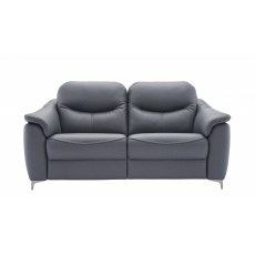 G Plan Jackson 3 Seater DBL Manual Recliner Leather Sofa
