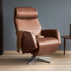 Stressless Scott Electric Recliner Chair - Sirius Base