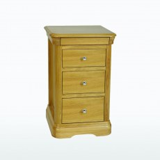 TCH Lamont 3 Drawer Bedside Chest.