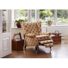 Parker Knoll York Fabric Manual Recliner Chair