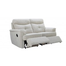 G Plan Atlanta Fabric 2 Seater Recliner Sofa Double
