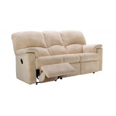 G Plan Chloe Fabric 3 Seater Recliner Sofa Double