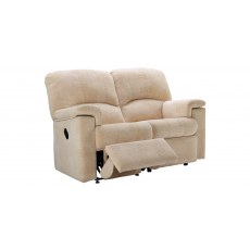 G Plan Chloe Fabric 2 Seater Recliner Sofa Double