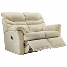 G Plan Malvern Fabric 2 Seater Recliner Sofa Double