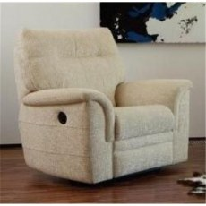 Parker Knoll Hudson Fabric Power Recliner