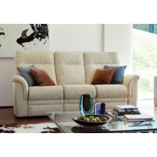 Parker Knoll Hudson Fabric Power 3 Seater Sofa