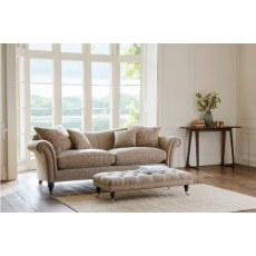 Parker Knoll Etienne Fabric Grand 3 Seater Sofa