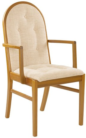 Sutcliffe Sutcliffe Trafalgar Upholstered Back & Seat Dining Chair