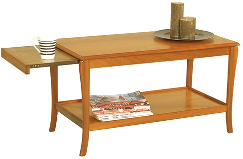Sutcliffe Sutcliffe Trafalgar Sofa Table with Pull-Out Heat-Resistant Sides