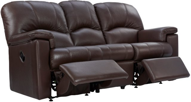 G Plan G Plan Chloe 3 Seater Recliner Sofa Double