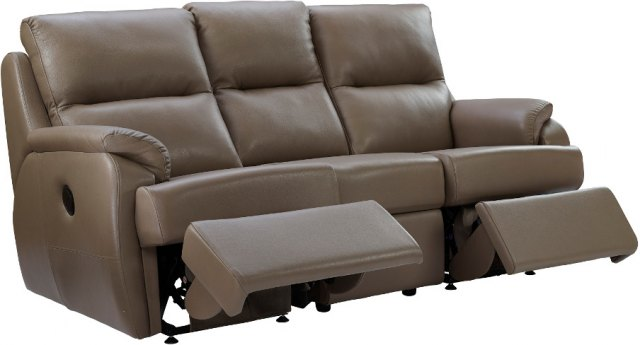 G Plan G Plan Hardford 3 Seater Recliner Sofa Double