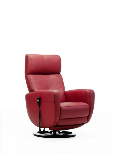 Rom Rom Premium Swivel Man. Rec. Chair Fabric