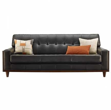 G Plan G Plan Vintage The Fifty Nine Leather Large Sofa