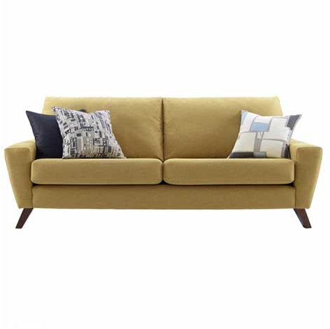 G Plan G Plan Vintage The Sixty Six Fabric Large Sofa