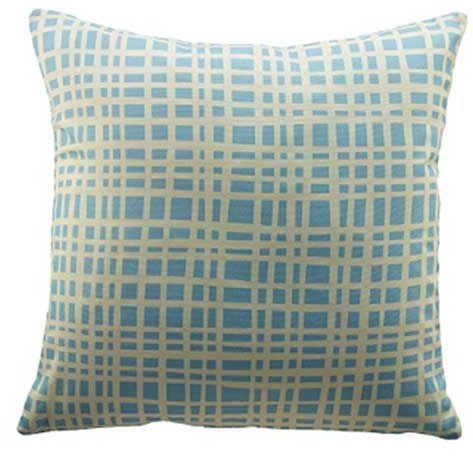G Plan G Plan Vintage Grid Blue Scatter Cushion
