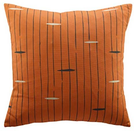 G Plan G Plan Vintage Flying Saucer Orange Scatter Cushion