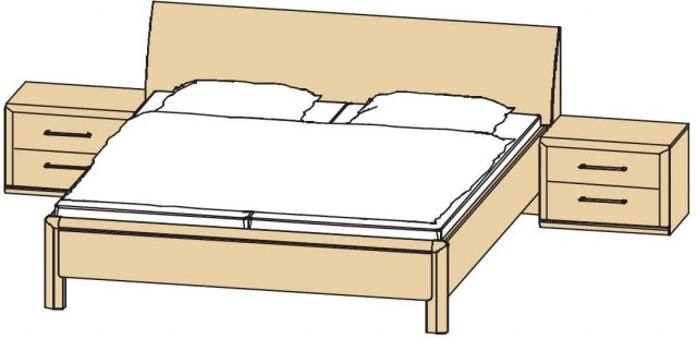 Disselkamp Disselkamp Coretta Double Bed