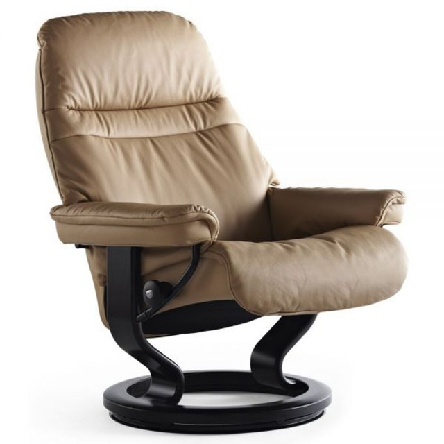 stressless sunrise large recliner chair hunter furnishing