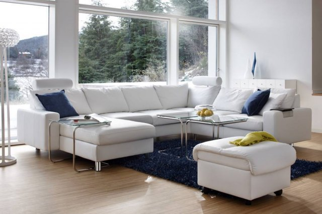 Stressless Stressless E200 2C2 Corner Sofa with Long Seat