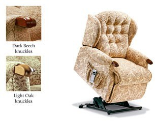 Sherborne Sherborne Lynton Knuckle Petite Lift Electric Recliner