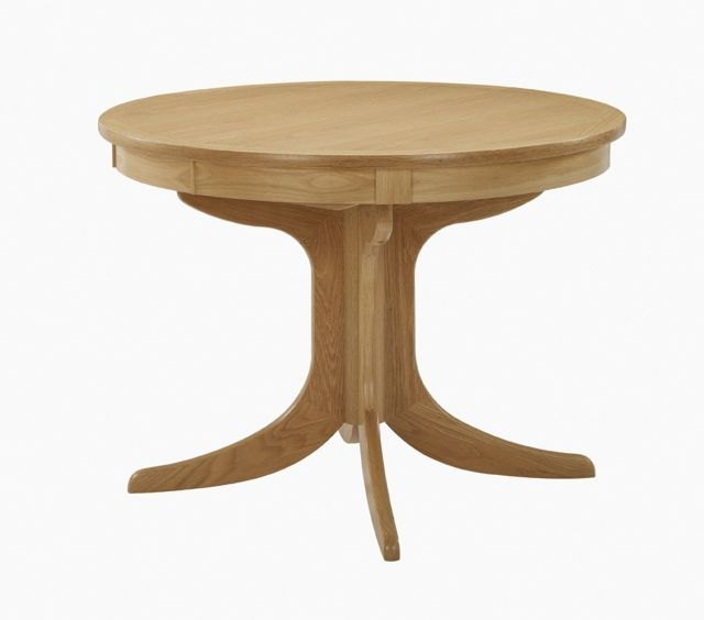 Nathan Nathan Shades Oak Circular Pedestal Dining Table