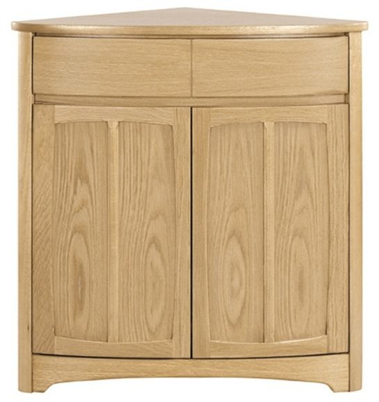 Nathan Nathan Shades Oak Shaped Corner Base Unit