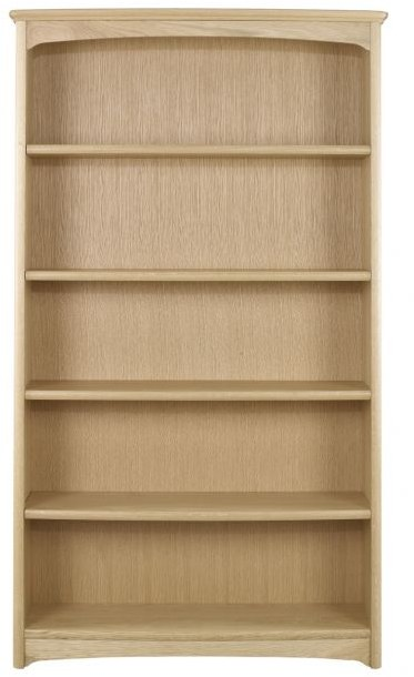 Nathan Nathan Shades Oak Tall Double Bookcase