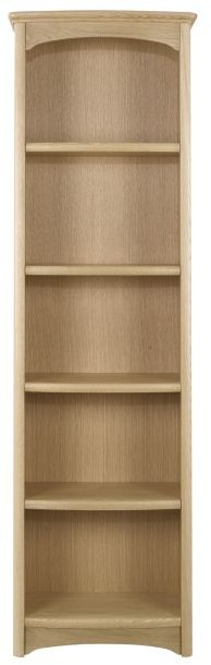 Nathan Nathan Shades Oak Tall Single Bookcase