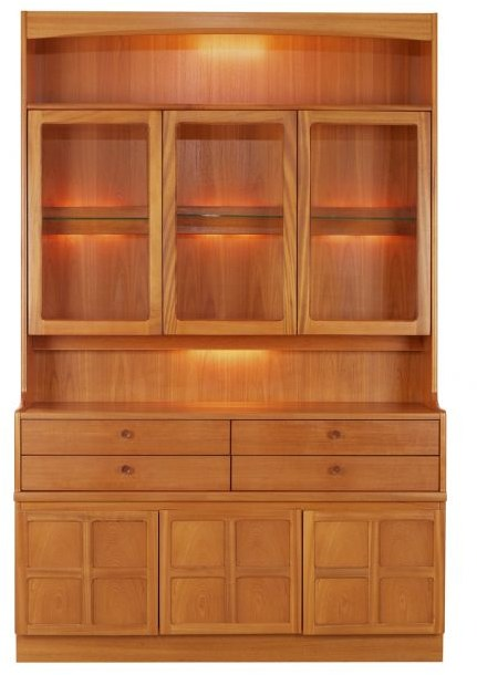 Nathan Display Combination Unit  - Teak