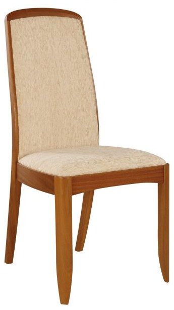 Nathan Fully Upholstered Dining Chair  - Teak