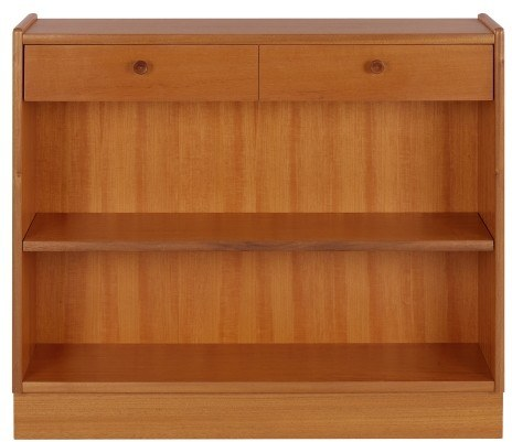 Nathan Low Open Bookcase - Teak