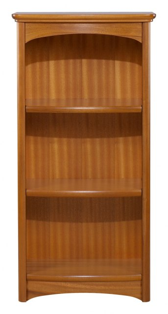 Nathan Mid Single Bookcase - Teak