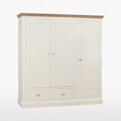TCH TCH Coelo 2 Drawer Triple Wardrobe