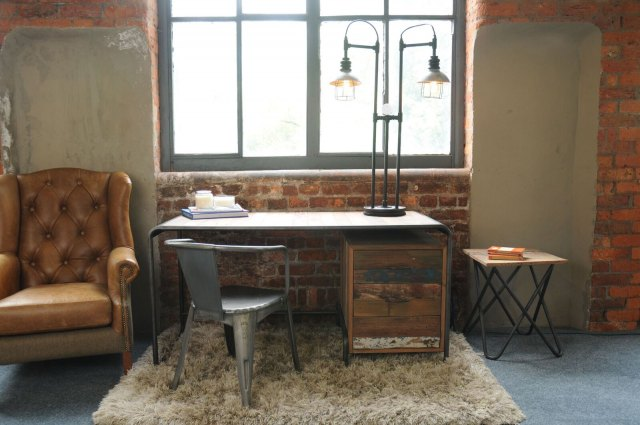 Loft Loft Retro Office Desk