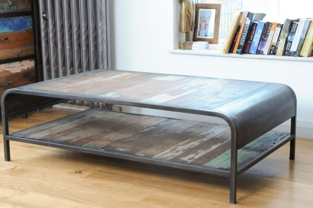 Loft Loft Retro Coffee Table with Shelf